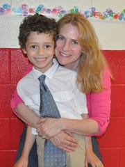 Westfield's Lauren Guberer and her nephew Sam, who have found their experience at the Imagine Center 'amazing and life-altering'