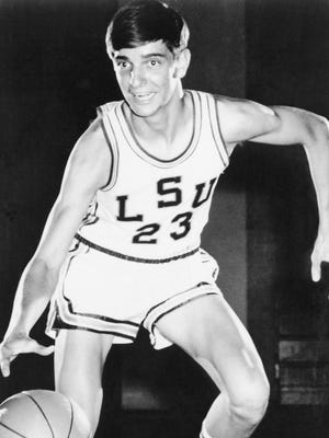 Pistol Pete Maravich was named the Associated Press Southeastern Conference basketball player of the year in 1968. He was the nation's leading collegiate scorer and selected for AP's 1968 All- American squad.