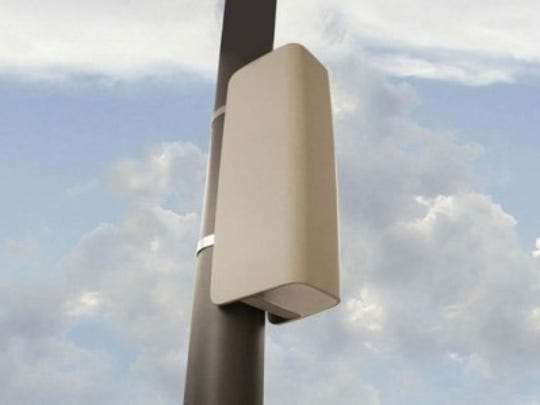 Small cell towers come in a variety of shapes and sizes.