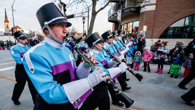 Members of the Northstar Marching Band participate in the 55th annual Waukesha Christmas Parade last year. This year's event is Nov. 18.