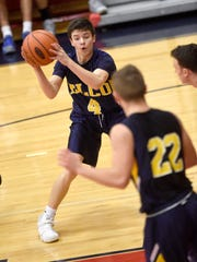 Junior point guard Bryce Coletti (4) runs the show