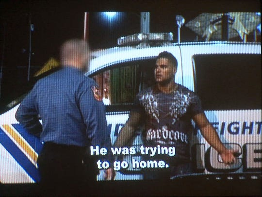 Ronnie Ortiz-Magro  in a video played during a hearing at the Ocean County Superior Court in Toms River in 2010.