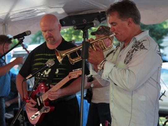 Musicians entertain at St. Therese August Fest at St.