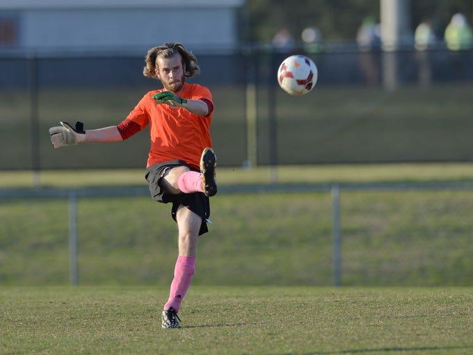 Hillcrest hosted TL Hanna in boys varsity soccer Tuesday,