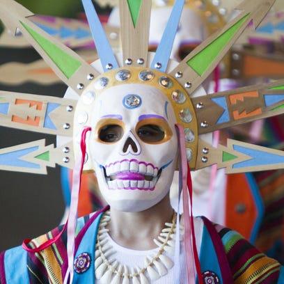The annual El Puente Theatre Festival and Mask Procession