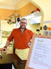 Mike Lund, owner of Mike Lund Food and Lundch in Staunton.