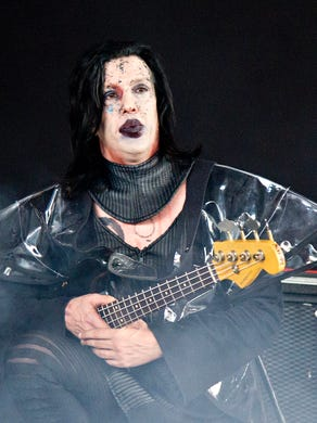 Twiggy Ramirez (Jeordie White) the former bassist and guitarist of the band Marilyn Manson, was accused of rape Oct. 20, 2017 by Jack Off Jill singer Jessicka Addams, who shared in a Facebook post that White physically and sexually assaulted her while they were dating. On Oct. 24, 2017, Marilyn Manson announced on his Twitter account, he parted with Jeordie White as a member of Marilyn Manson.