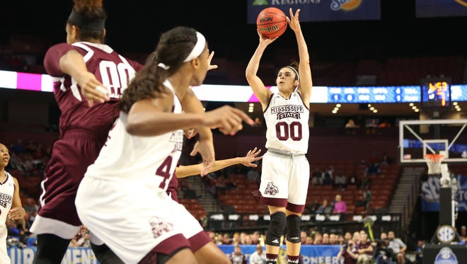 Dominique Dillingham helped set the tone early for MSU Saturday night.