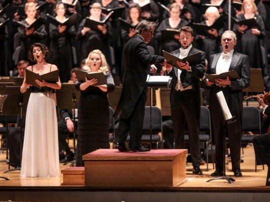 "The May Festival Chorus, CSO and soloists delivered an inspiring performance of Mozart's Mass in C Minor, ""The Great,"" with James Conlon conducting."