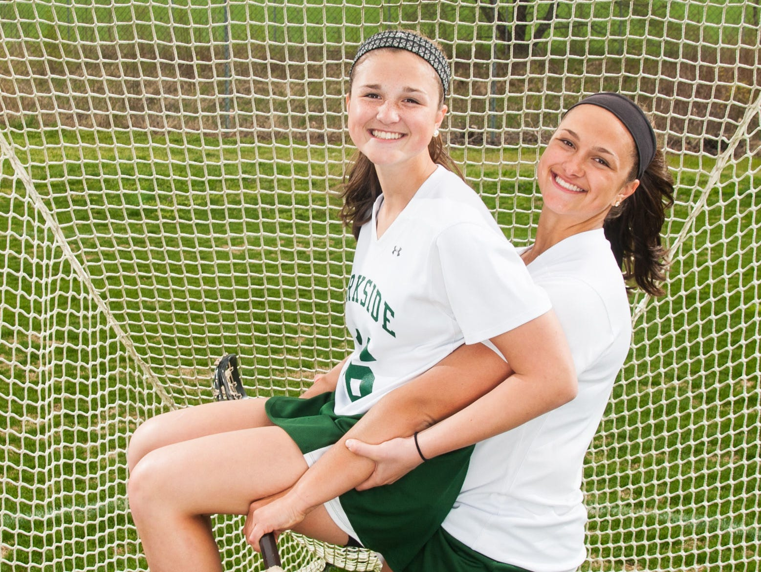 Parkside freshman Abigail (16) and senior Alivia (15) Roskovich are just one set of siblings the Rams girls lacrosse team is sporting this spring.