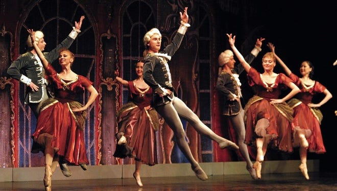 """The Moscow Festival Ballet brings the magic of  """"Cinderella"""" to the Spencer Theater stage at 7 p.m. Jan. 28."""