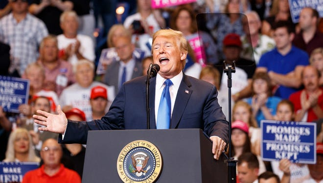 Things President Trump says causes confusion for columnist Joe Phalon.