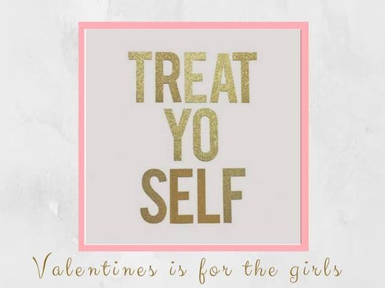 VD treat yo self