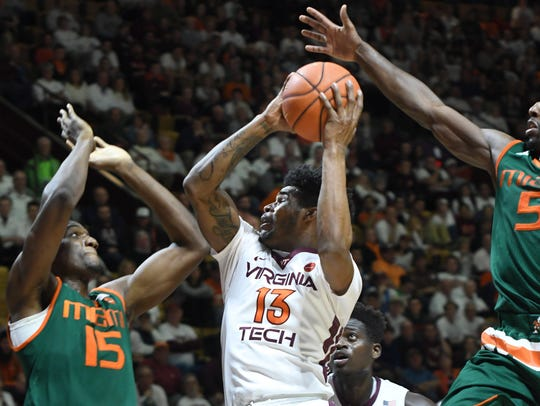 Virginia Tech and Miami are both dangerous in March.