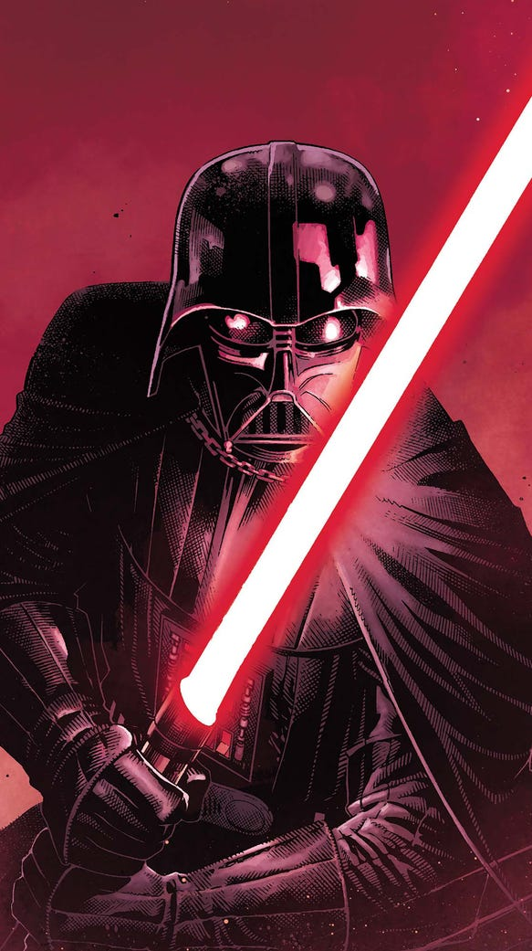 Infamous Sith Lord Darth Vader is the star of his own