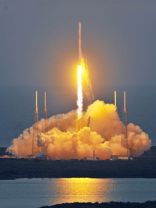 SpaceX sets April 13 launch of Falcon 9 from Cape