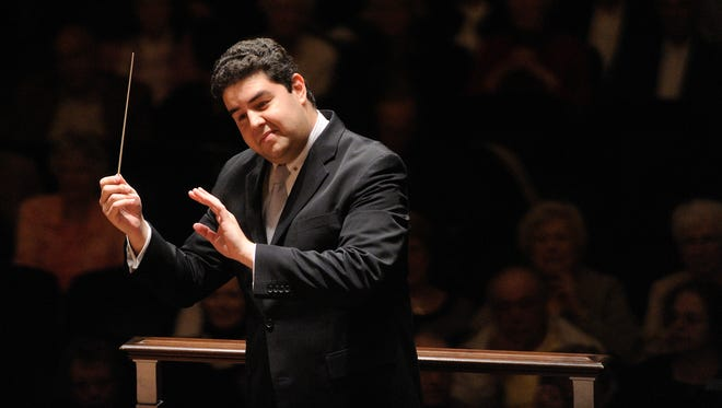 Tito Munoz, the new conductor for the Phoenix Symphony.