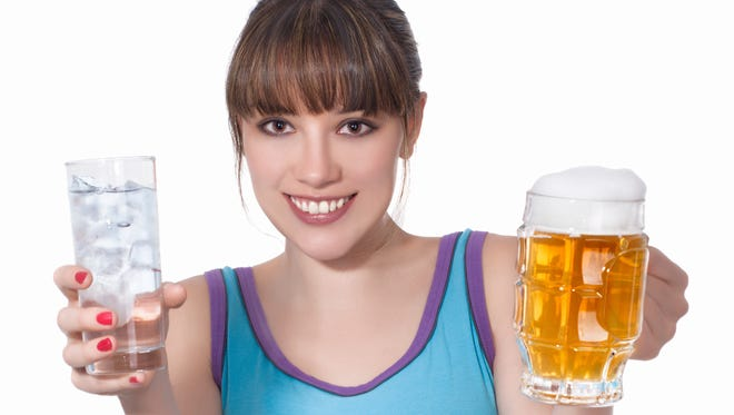 OK, water is still No. 1. But beer after exercise has its benefits.