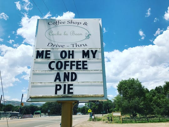 Me Oh My is a popular Laporte pie and coffee shop named after Bob Dylan lyrics.