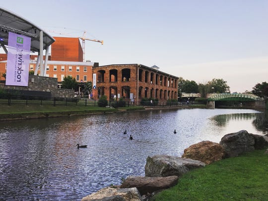 Greenville has plenty of Instagram hot spots. The Wyche Pavilion and Reedy River often end up on social media.