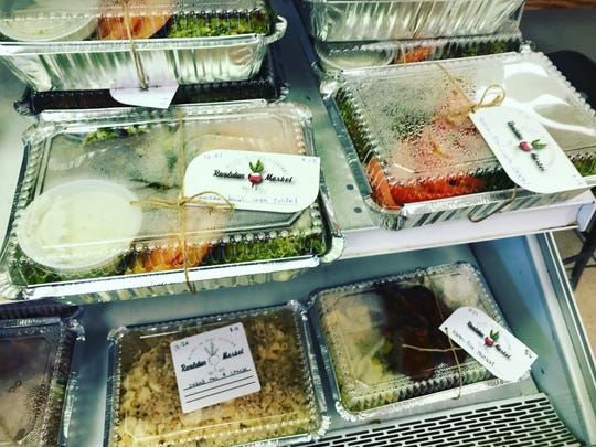 Revolution Market specializes in ready-to-cook, take-home meals prepared in two-person servings.
