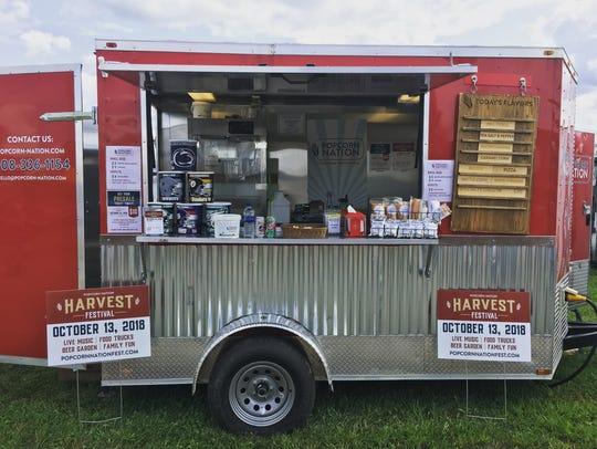 Popcorn Nation at the Hunterdon County 4-H Fair.