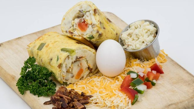 Handy's Restaurant has opened in Fort Collins serving a handheld breakfast similar to a breakfast burrito but using an rolled egg omelette instead of a tortilla.
