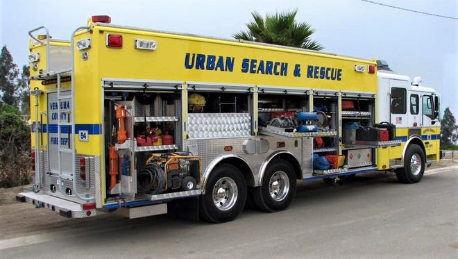 The Ventura County Fire Department has an urban search-and-rescue team.