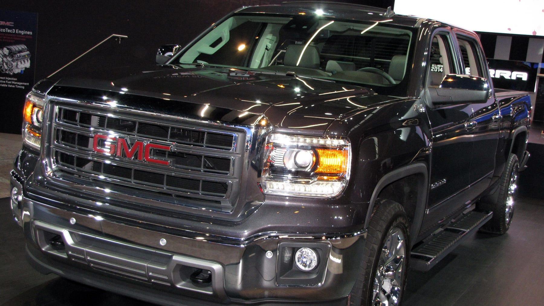 Updated Capabilities 2014 Gmc Sierra 1500 Pickup Truck
