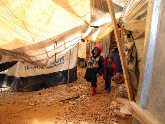 EPA JORDAN SYRIAN REFUGEES STORM WEA WEATHER JOR