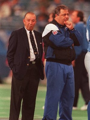 William Clay Ford lit a fire under Wayne Fontes and the Lions in 1995.