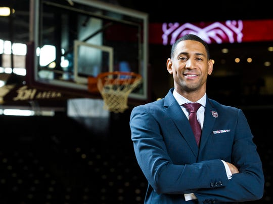 Dana Ford was named as the Missouri State men's Basketball head coach on Thursday, March 22, 2018.