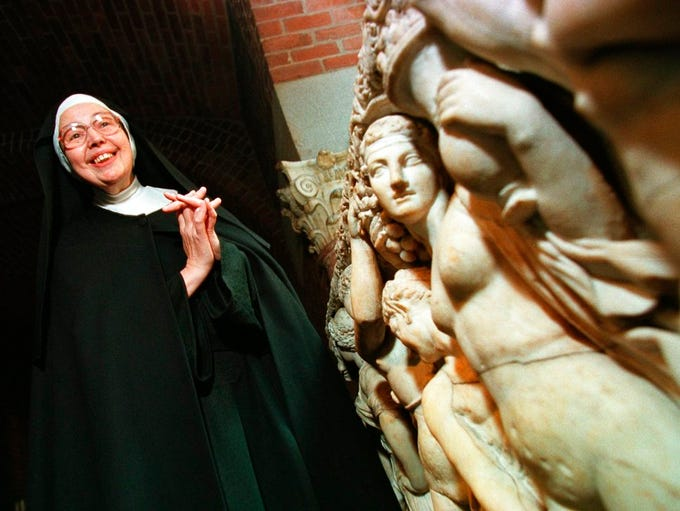 Sister Wendy Beckett is shown in this 1997 file photo.