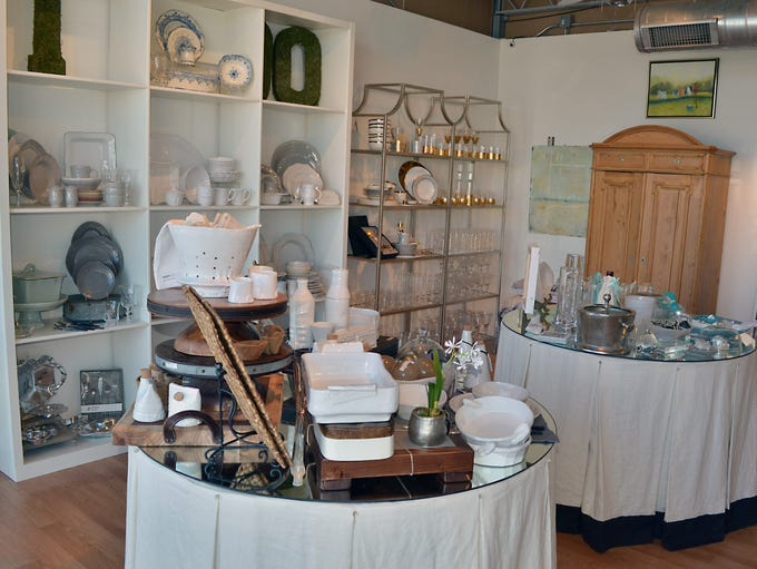 Gifts, interior and home accessories as well as a metro-area