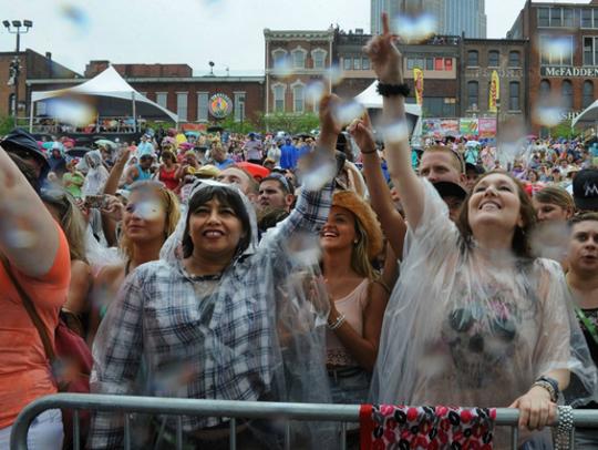 File image of CMA Fest in Nashville.