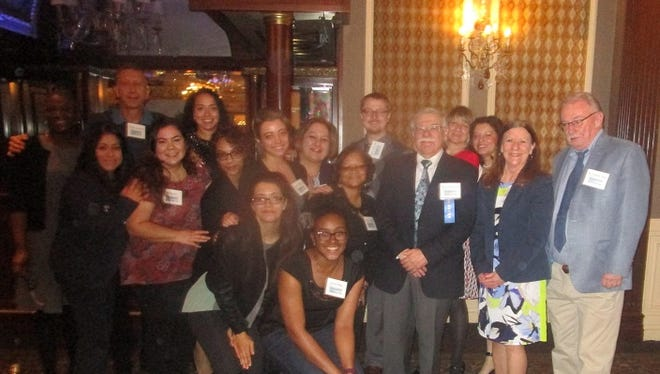 """Honorees at Paterson Alliance """"Extra Mile"""" banquet."""