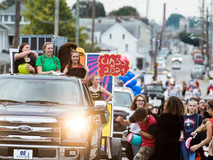 Hanover High School kicked off homecoming weekend with
