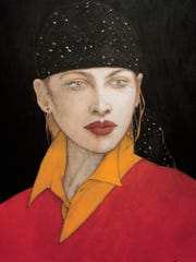 """The Look,"" completed by Ramon Santiago in 1996 and"