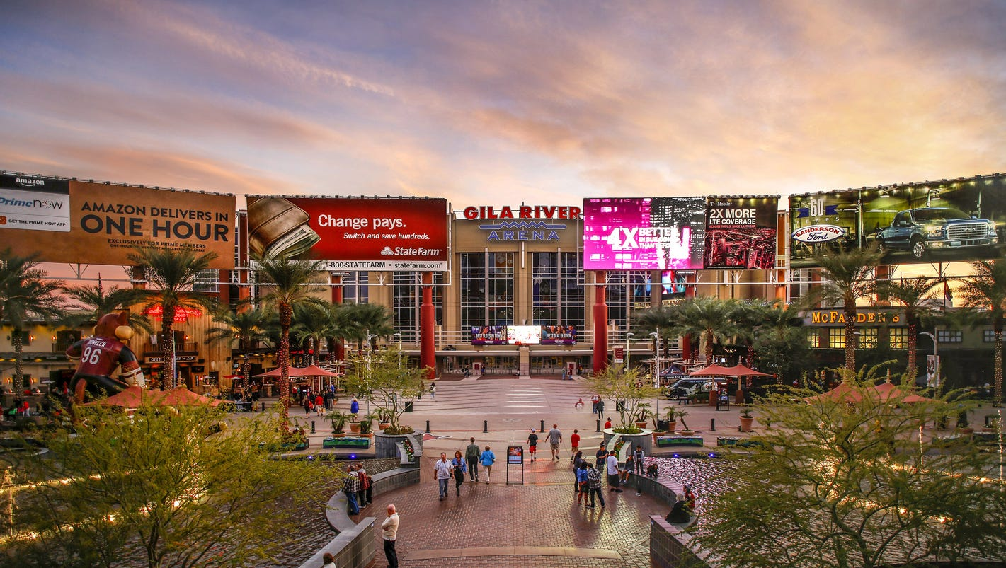 Arizona coyotes arizona cardinals won 39 t bid to manage for The glendale