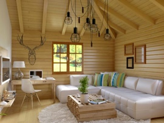 An interior reminiscent of your favorite vacation spot