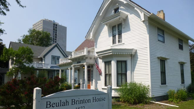 """The Beulah Brinton House in Bay View is the site of a """"Traditions to Remember"""" event."""