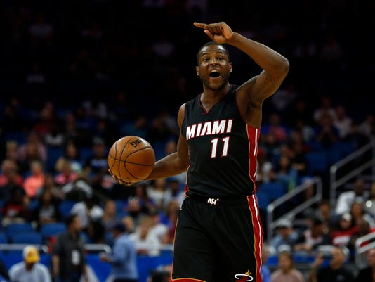 USP NBA: MIAMI HEAT AT ORLANDO MAGIC S BKN USA FL