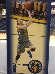 The first 5,000 fans at Saturday's Lauren Hill Tipoff Classic at Cintas Center will receive a bobblehead of Hill.