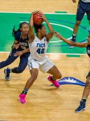 FGCU will really be counting on All-Freshman forward Tytonia Adderly against Jacksonville, the ASUN's leading rebounding team. Adderly averages 7.6 rebounds in just 18.2 minutes.