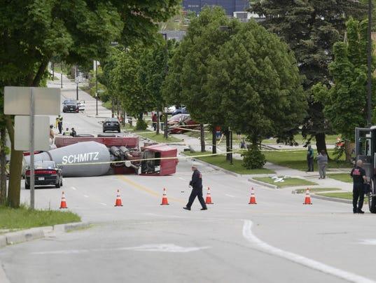 Sheboygan 14th Street crash