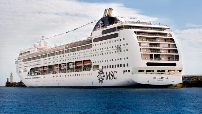 MSC Cruises' Lirica.