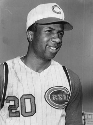 Frank Robinson hit 324 of his 586 career home runs as a Red.