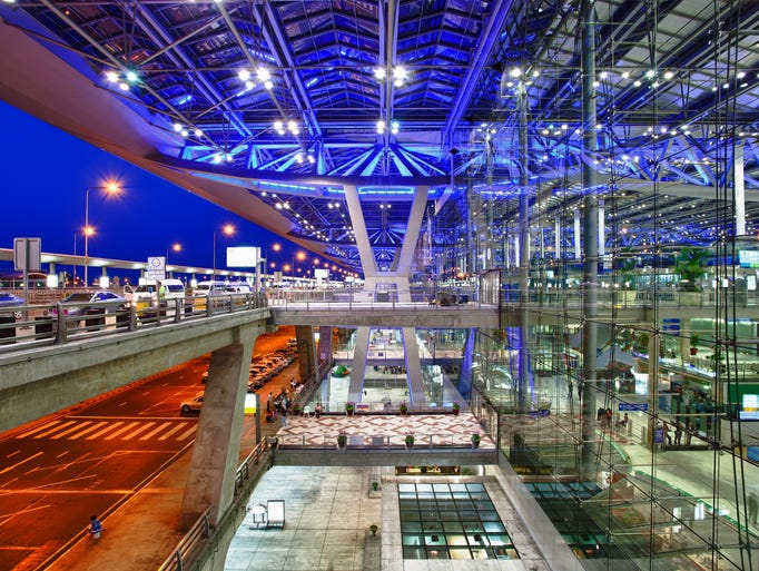 No. 20:  Bangkok International Airport; 55,892,428