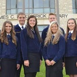 Students from Branson High School attended the Missouri FFA Public Speaking Academy, held in mid-June at teh Unviersity of Central Missouri.