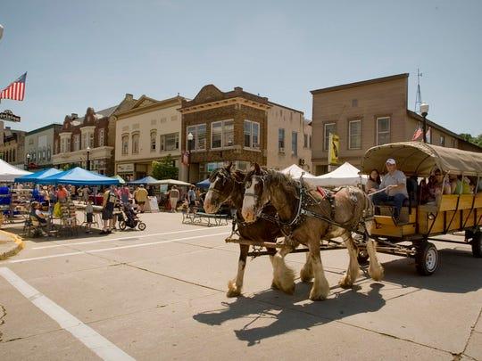 Scenes from Mill Street Festival Saturday July 13,